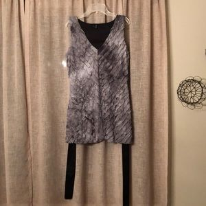 Maurices Ruffled Sleeveless Blouse